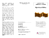 Spiritual Gifts:  Speaking in Tongues, front.